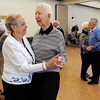 Ken Yuszkus/Staff photo:  Peabody: Rita and Joe Edry of Peabody, dance to the music of the Golden Echoes Dance Band at the Peter A. Torigian Community Life Center in Peabody. Big band dancing happens every Thursday from 9:30 to 11:00 at the center.