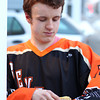 Beverly High School senior winger Jake Straw is a lover of animals. DAVID LE/Staff photo