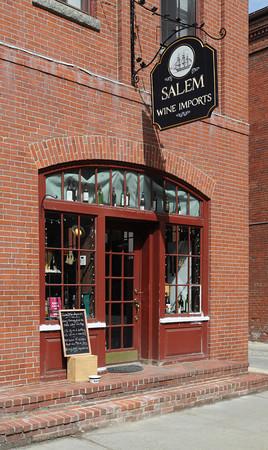 Ken Yuszkus/Staff photo:  Salem:  Salem Wine Imports is at 32 Church Street in Salem.