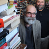 Ken Yuszkus/Staff photo: Salem:  Brothers Frank, left, and Ted Monroe are owners of the Derby Square Bookstore.