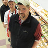 Ken Yuszkus/Staff photo: Danvers:  From left, Diogenes Da silva, executive chef, Ryan Crowley, assistant manager, and Matt Tilley, general manager at The Butchery in Danvers.