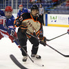 Beverly senior captain Connor Irving (22) scored four goals and added an assist for the Panthers against Tewksbury during the D2 North Final at the Tsongas Center at UMass Lowell on Monday evening. Beverly dominated Tewksbury 9-1 to advance to the D2 State Final to be played next Sunday at the TD Garden where the Panthers will take on South Division Champion Medfield. DAVID LE/Staff photo 3/10/14
