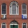 KEN YUSZKUS/Staff photo.  Salem Town Hall's 2nd story windows will be repaired.     03/31/15