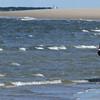 KEN YUSZKUS/Staff photo.     Cherie Ertha rides her horse Calypso along the shoreline at Crane Beach.     03/03/16