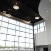 KEN YUSZKUS/Staff photo. One of the distributive dining areas of the new Essex Tech.      5/20/14