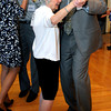 KEN YUSZKUS/Staff photo. State Representative Jerry Parisella dances with Pearl Aagenas during the Dancing with the Stars competition held at the Beverly Senior Center.      5/20/14