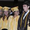 STAFF KEN YUSZKUS The Bishop Fenwick graduation ceremony.