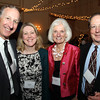 From left: Jeffrey Frankel, of Marblehead, Heather Fisher, of Salem, and John and Florence Velluto, of Marblehead, at the Catholic Charities North annual Spring Gala on Thursday evening at the Hawthorne Hotel. DAVID LE/Staff photo. 5/1/14