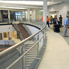 KEN YUSZKUS/Staff photo. The foyer near the main front entrance of the new Essex Tech.      5/20/14