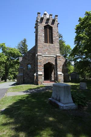 KEN YUSZKUS/Staff photo. The Andrews Chapel in Swampscott.    5/22/15