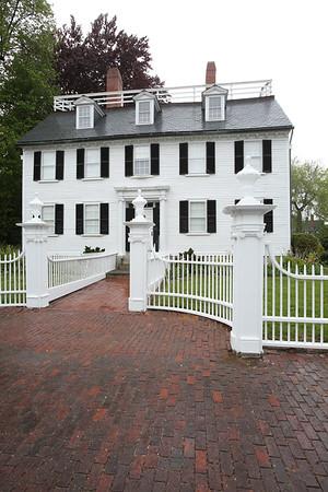 KEN YUSZKUS/Staff photo. The Ropes Mansion in Salem.   5/19/15