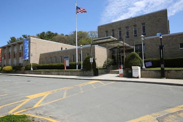 KEN YUSZKUS/Staff photo.    The Harrington Building houses a few of Salem State's programs on South Campus.      05/06/16
