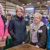 PARKER FISH/ Photo. (Left to right) Sue McLaughlin, Deborah Stanton, Kay Joseph, and Susan Lawrence pose together during the annual equine expo. Mclaughlin and Joseph have been organizing the expo for over twenty years. 4/30/16