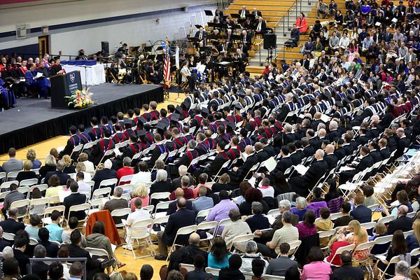 HADLEY GREEN/ Staff photo<br /> The Gordon-Conwell Theological Seminary graduation ceremony. 5/13/17