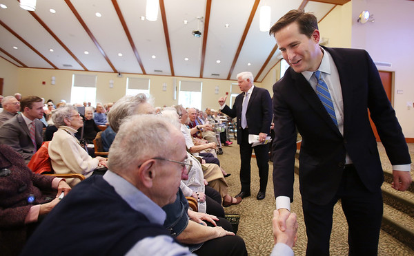 Congressmen Seth Moulton and John Larson (D-CT) will host a town hall with the residents of Brooksby Village Retirement Community
