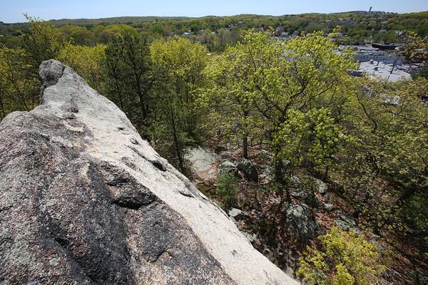 Ship Rock Boulder in Peabody