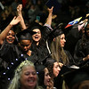 HADLEY GREEN/ Staff photo<br /> Graduates celebrated at the end of their commencement ceremony. 5/25/17