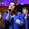 """HADLEY GREEN/ Staff photo<br /> Salem State's a cappella group """"SSockapella"""" performs at the Salem State Series before John Legend took the stage. The event was held at Salem State's Rockett Arena on Tuesday, May 2nd, 2017."""