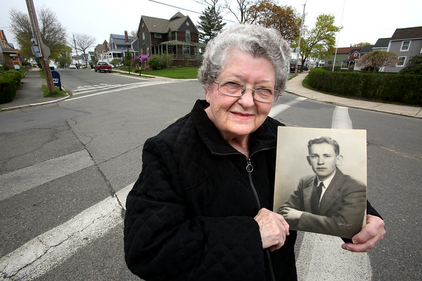 """Francis Condon's youngest brother """"Bobby"""" (Robert Griffin) is being honored with an intersection to be named Griffin Square"""