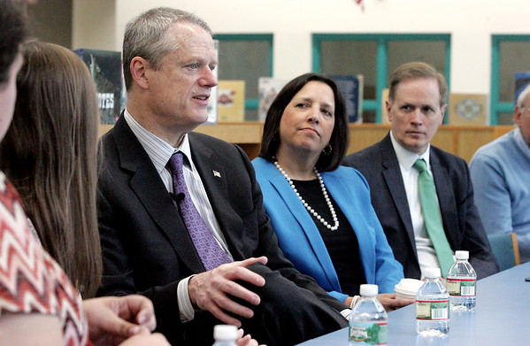 Gov. Charlie Baker will be visiting the Bentley School along with Secretary of Education Jim Peyser
