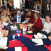 HADLEY GREEN/ Staff photo<br /> Volunteers Marblehead Knits knit blankets, hats, scarves and mittens for military members returning home from active duty. 5/4/17