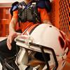 KEN YUSZKUS/Staff photo.   Beverly High senior defensive back David Drinkwater.  11/20/14