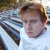 KEN YUSZKUS/Staff photo.   St. John's Prep football lineman senior Dan Dewing.    11/19/14
