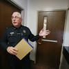 Protective custody at Salem police station