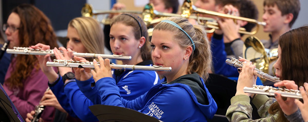 Danvers High Falcon Marching Band is going off to Pearl Harbor