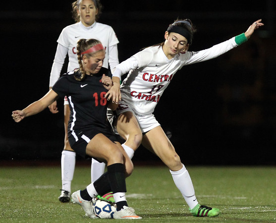 Central Catholic Girls Soccer vs Whitman-Hanson D1 State Semifinal