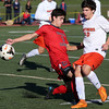 Central Catholic at Beverly boys soccer in Division 2 North quarterfinal playoff soccer game.