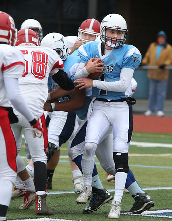 Saugus at Peabody Thanksgiving football game