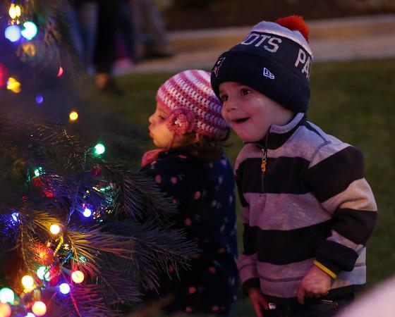 Peabody City Hall Annual Tree Lighting