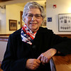 HADLEY GREEN/Staff photo<br /> Rose Scannell attends the Peabody's Veterans Day service at Peabody City Hal.<br /> 11/11/17