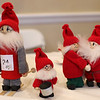 HADLEY GREEN/Staff photo<br /> Christmas figurines for sale at the Swedish Yule Fair at the Hamilton-Wenham Community House.<br /> <br /> 11/25/17