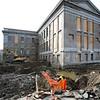 KEN YUSZKUS/Staff photo.  Probate court renovations continue in Salem 10/28/14