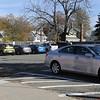 KEN YUSZKUS/Staff photo.   The School Street parking lot in downtown Danvers.    11/02/15.
