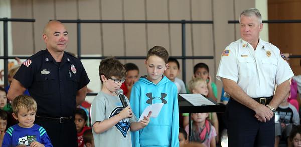 Bancroft Elementary School Community Helpers Assembly