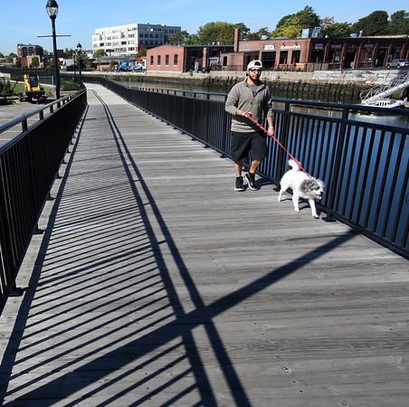 Riverwalk and lot
