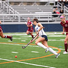HADLEY GREEN/Staff photo<br /> Swampscott's Sydney Cresta (4) drives the ball down the field to score at the Swampscott v. Peabody girls field hockey game at the Blocksidge Field in Swampscott.<br /> 10/26/17