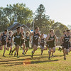 AMANDA SABGA/Staff photo. <br /> <br /> The boys take off during a cross country meet between Manchester Essex and Hamilton-Wenham at Patton Park in Hamilton. <br /> <br /> 10/18/17