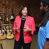Mayor Kim Driscoll visit