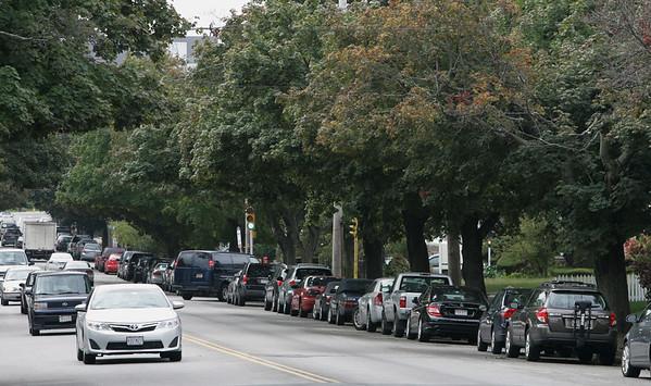 Salem:<br /> Trees line Lafayette Street in Salem.<br /> Photo by Ken Yuszkus/The Salem News, Wednesday, September 26, 2012.