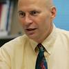 Salem:<br /> Kenneth Ardon is an associate professor of economics at Salem State University.<br /> Photo by Ken Yuszkus/The Salem News, Friday, September 28, 2012.