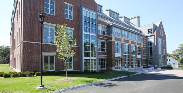 KEN YUSZKUS/Staff photo. The new Brother Edward Keefe Academic Center at St. John's Prep.  9/16/15.