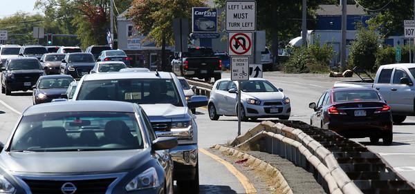Highland Avenue at Swampscott/Marlborough roads in Salem