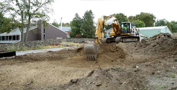 Construction in Swampscott.