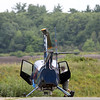 "DAVID LE/Staff photo. A helicopter made a ""precautionary landing"" on Butternut Ave in Peabody on Thursday afternoon after experiencing some difficulties while out over the water. The chopper was headed back to the Beverly Airport when it made the landing. 9/1/16."