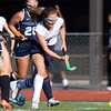 DAVID LE/Staff photo. Peabody's Emily Bellavance streaks upfield against Swampscott on Thursday afternoon. 9/15/16.