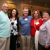 AMY SWEENEY/Staff photo.<br /> Jan Jefgood, trustee at the Beverly Historical Society, Maurenn Jefgood, Mark Munoz, Joy Munoz, trustee at the Beverly Historical Society, and Denise Deschamps all from Beverly attend the opening of a new exhibit.<br /> The opening of a new exhibit by the Beverly Historical Society at the John Cabot House in Beverly.<br /> Opening Sept. 8, 2016<br /> John Cabot House<br /> Beverly